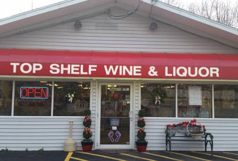 Top Shelf Wine and Liquor